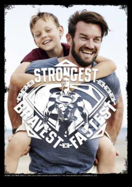 T-Shirts - Superman Strongest Photo Upload T-Shirt - Image 4