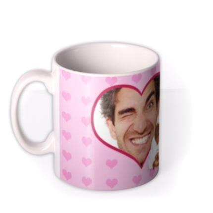 Mugs - Valentine's Day Sexy Back Photo Upload Mug - Image 1