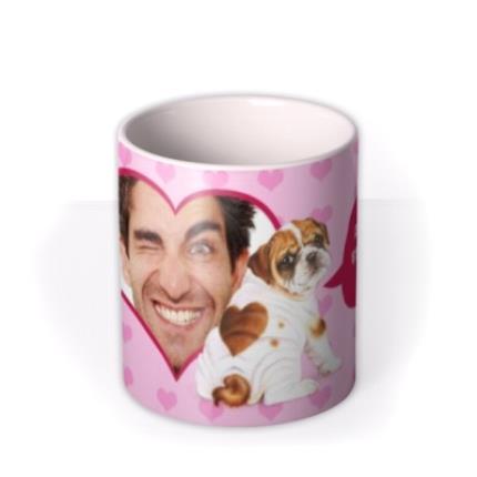Mugs - Valentine's Day Sexy Back Photo Upload Mug - Image 3