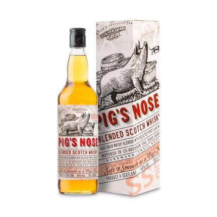 Alcohol Gifts - Pig Nose Whisky Gift Box - Image 1