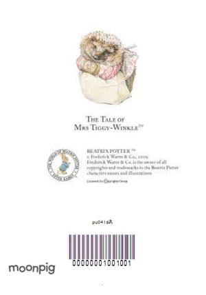 Greeting Cards - Beatrix Potter Mrs Tiggy Winkle Personalised Happy Birthday Card - Image 4
