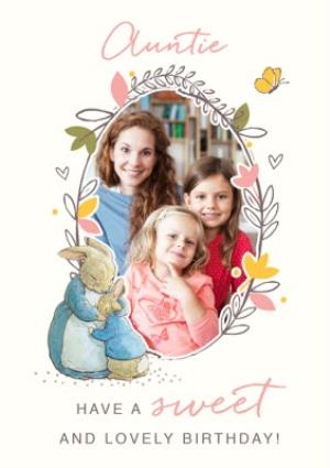 Greeting Cards - Auntie - Have a sweet and lovely birthday - photo upload - Image 1
