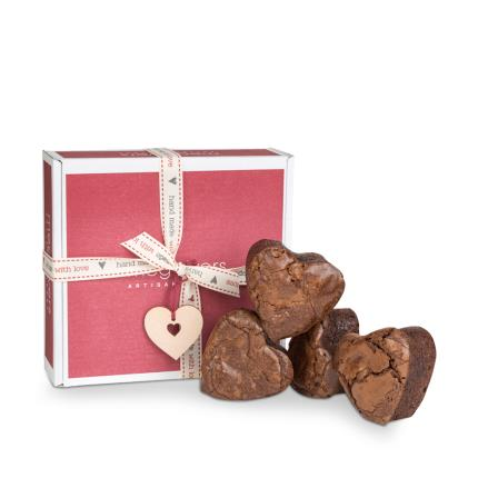 Food Gifts - Meg Rivers Heart Shaped Brownie Collection - Image 1