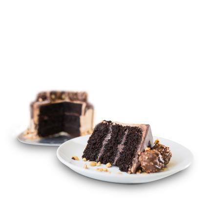 Food Gifts - Desserts Delivered Hazelnut Truffle Cake - Image 3