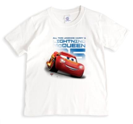T-Shirts - Cars Mcqueen All Time Legends Kids' T-Shirt - Image 1