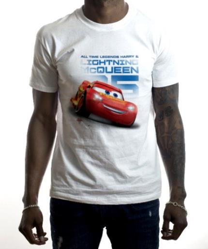 T-Shirts - Cars Mcqueen All Time Legends Kids' T-Shirt - Image 2
