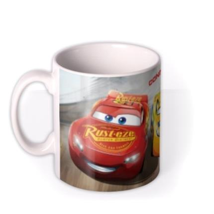 Mugs - Cars Racing Legend Personalised Name Mug - Image 1
