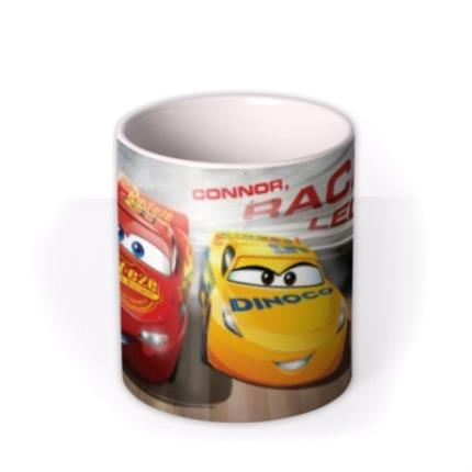 Mugs - Cars Racing Legend Personalised Name Mug - Image 3