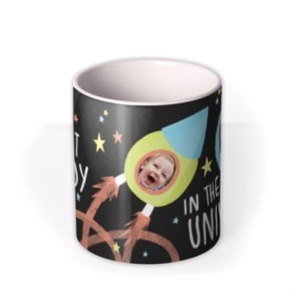 Mugs - Best Daddy In The Universe Multi-Photo Custom Mug - Image 3