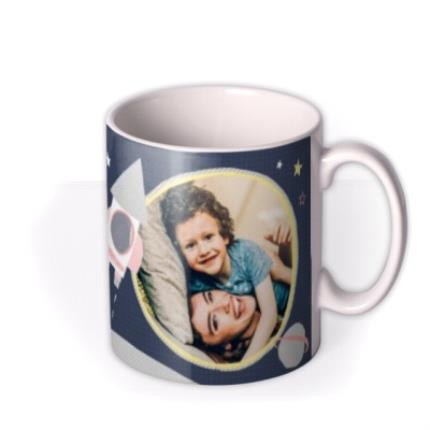 Mugs - Mother's Day Mug - Photo Upload - Mummy - Love You - To The Moon And Back - Image 2