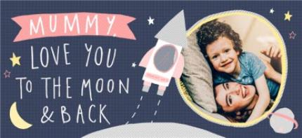 Mugs - Mother's Day Mug - Photo Upload - Mummy - Love You - To The Moon And Back - Image 4