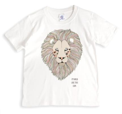 T-Shirts - Lion Wild Personalised T-shirt - Image 1