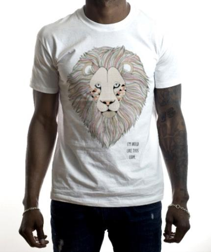 T-Shirts - Lion Wild Personalised T-shirt - Image 2