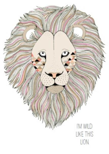 T-Shirts - Lion Wild Personalised T-shirt - Image 4