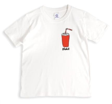 T-Shirts - Coke Habit Funny White T-Shirt - Image 1
