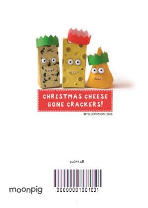 Greeting Cards - Personalised Is It Christmas Yet Cheese Pun Card - Image 4