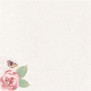 Greeting Cards - At This Time Of Sadness Butterflies And Roses Personalised With Sympathy Card - Image 2