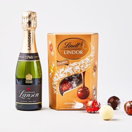 Food Gifts - Lanson Champagne & Truffles - Image 1