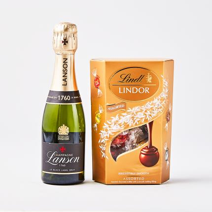 Food Gifts - Lanson Champagne & Truffles - Image 2