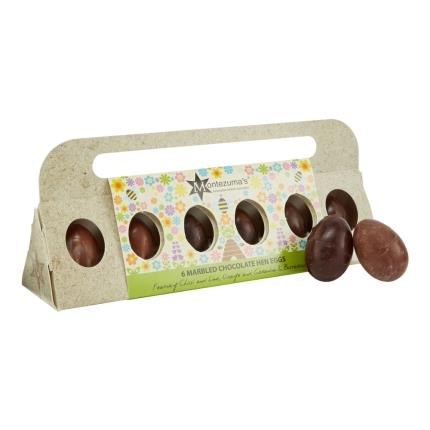 Food Gifts - Montezumas Marbled Chocolate Hen Eggs - NEW! - Image 1