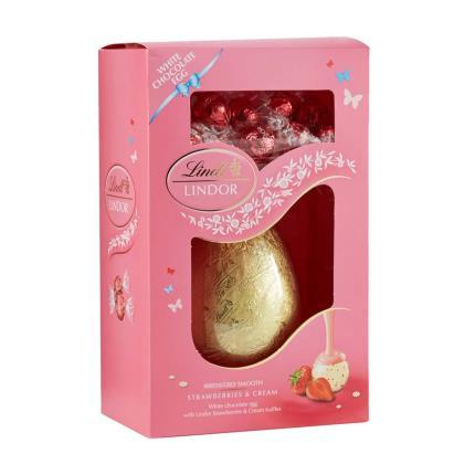 Lindor Strawberries Amp Cream Easter Egg Moonpig