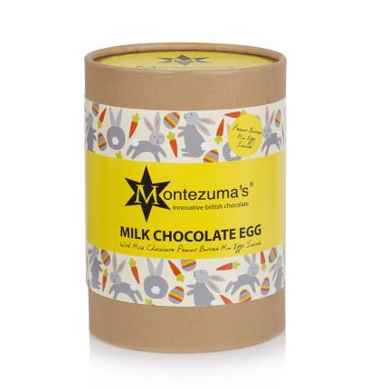 Food Gifts - Montezuma's Milk Chocolate Peanut Butter Truffle Egg - Image 2