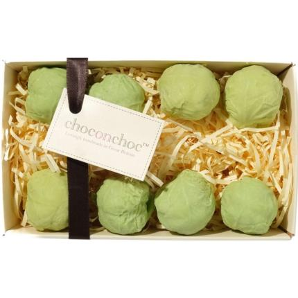 Food Gifts - Choc on Choc Chocolate Brussel Sprouts - Image 1