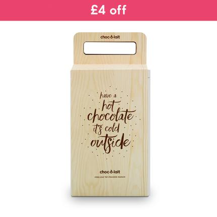Food Gifts - Choc au Lait Hot Chocolate Selection Tin - Was £12 now £8 - Image 1