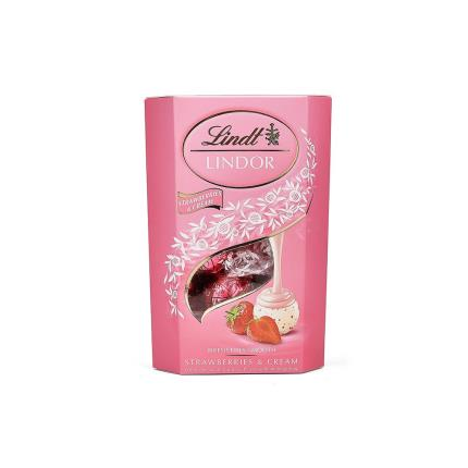 Food Gifts - Lanson Rose Champagne with Strawberries and Cream Truffles - Image 3