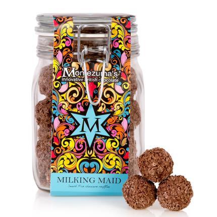 Food Gifts - Montezuma Milking Maid Truffle Jar WAS £20 NOW £16 - Image 1