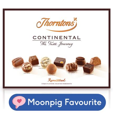 Food Gifts - Thorntons Continental Chocolate Box 284g - Image 1