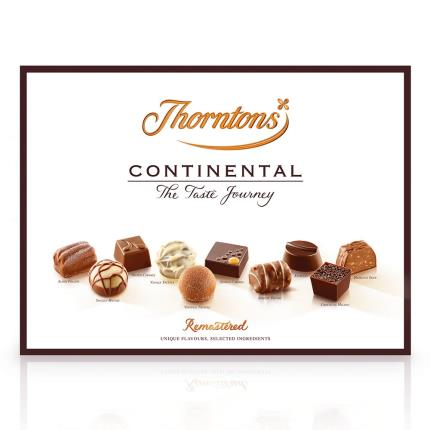 Food Gifts - Thorntons Continental Chocolate Box 284g - Image 2