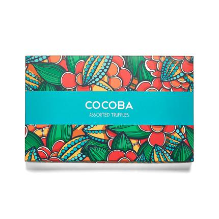 Food Gifts - Cocoba Assorted Truffle Gift Box - Image 1
