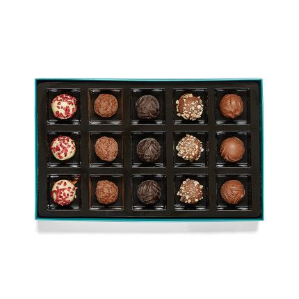 Food Gifts - Cocoba Assorted Truffle Gift Box - Image 2