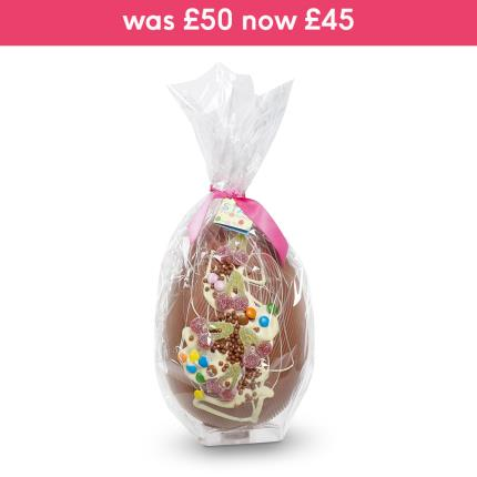 Food Gifts - Giant 1.5KG Sweetie Milk Chocolate Egg - Image 1