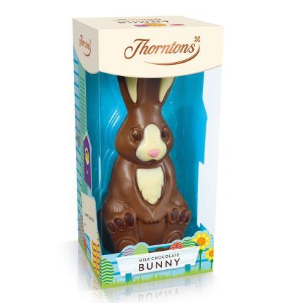Food Gifts - Thorntons Milk Chocolate Bunny Gift Box - Image 2