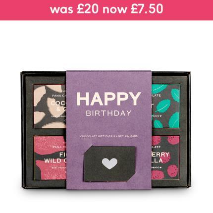 Food Gifts - Pana Chocolate Happy Birthday Gift Box - Image 1