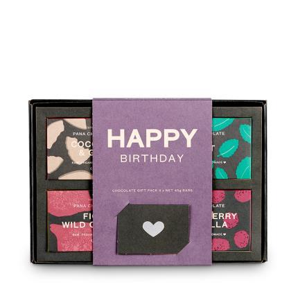 Food Gifts - Pana Chocolate Happy Birthday Gift Box - Image 2