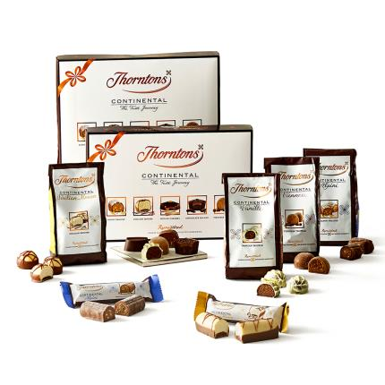 Food Gifts - Thorntons Continental Gift Set - Image 1