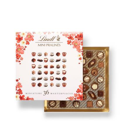 Food Gifts - Lindt Mini Pralines Chocolate Gift Box - Image 1