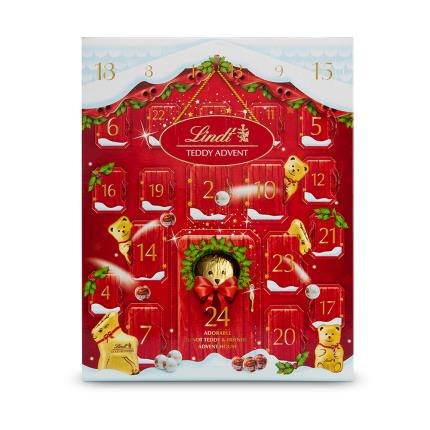 Food Gifts - Lindt Teddy Christmas Advent Calendar - Image 2