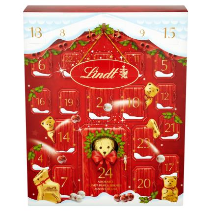 Food Gifts - Lindt Teddy Christmas Advent Calendar - Image 3