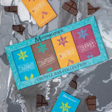 Food Gifts - Montezuma's Truffle Bar Collection - Image 1