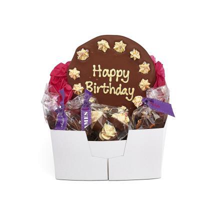 Food Gifts - James Chocolates Birthday Chocolate Gift Box - Image 1