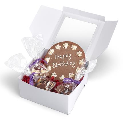 Food Gifts - James Chocolates Birthday Chocolate Gift Box - Image 3