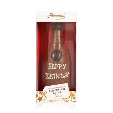 Thorntons Happy Birthday Chocolate Bottle Gift Box