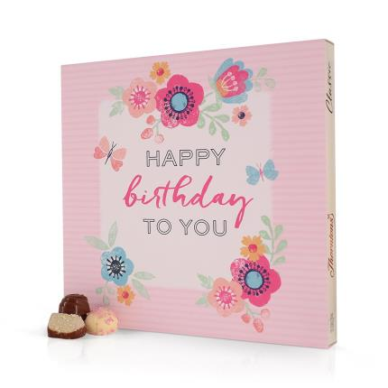 Food Gifts - Thorntons Classic Collection Box In Birthday Sleeve (262g) - Image 1