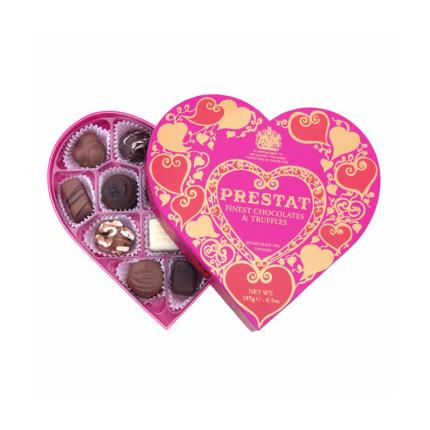 Food Gifts - Prestat Heart Chocolate Gift Box - Image 1