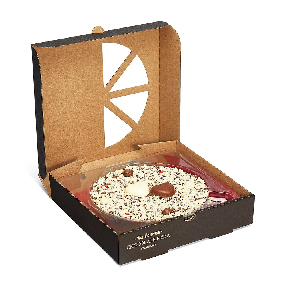 Food Gifts - The Gourmet Chocolate Pizza Company I Love You Pizza - Image 3