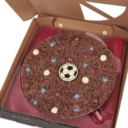 Food Gifts - Chocolate Football Pizza - Image 1